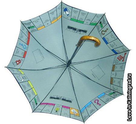 25. Черный зонт с облаками на внутренней стороне придаст иллюзию, что...